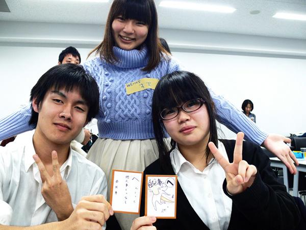 鶴見高校の生徒さんも参加してくれました。完成度高い!!